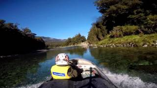 Haast New Zealand  city photo : Jetboating to Lake Ellery, Haast ,New Zealand