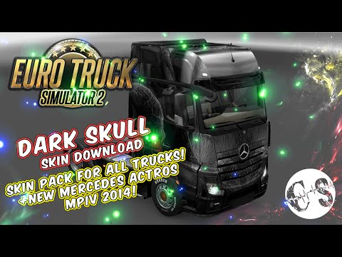 Dark Skull Skin Pack for All Trucks