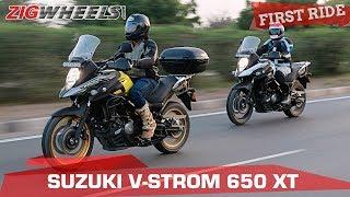 7. Suzuki V-Strom 650 XT First Ride Review   Don't buy a used ADV!   ZigWheels.com