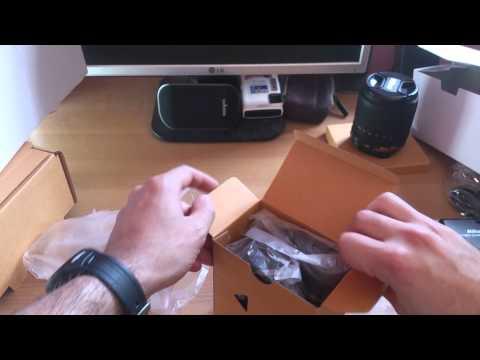Unboxing Nikon D7100 - 18-105 VR Kit