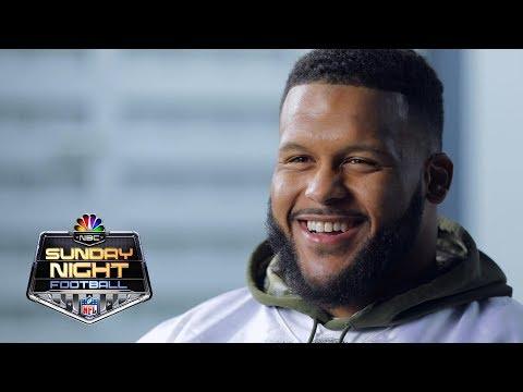 Video: Aaron Donald on breaking the NFL sack record | NFL | NBC Sports