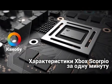 Характеристики Xbox Scorpio за одну минуту