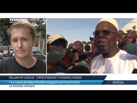 Sénégal : L'ex-maire de Dakar khalifa Sall gracié