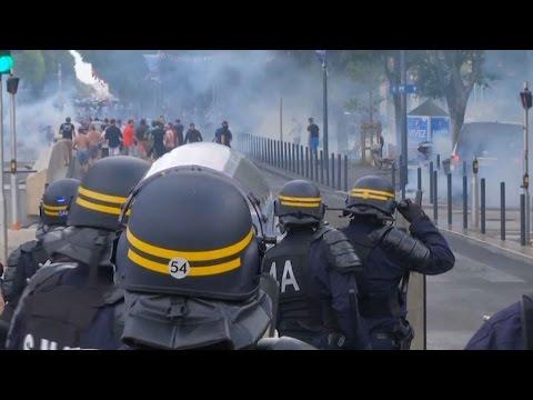 L'Euro gâché par des affrontements de supporters à Marseille et Nice