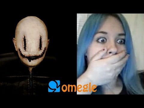 Smiley goes to Omegle