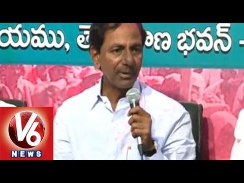 KCR Speech - After Telangana Announcement