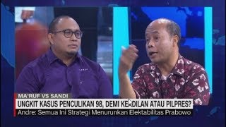 Video Debat Panas Jubir Prabowo & Adik Widji Thukul Soal Penculikan Aktivis 98 MP3, 3GP, MP4, WEBM, AVI, FLV Juni 2019