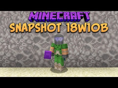 minecraft 1.13 snapshot 18w10a download