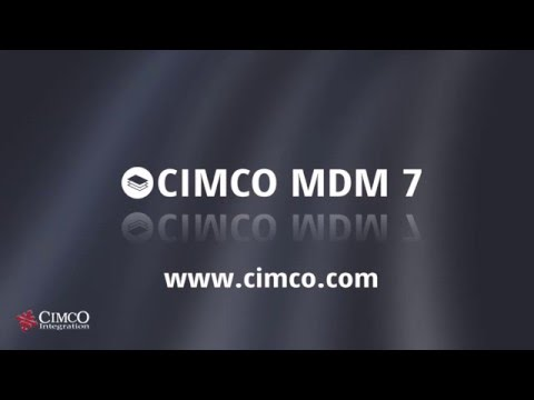 CIMCO MDM – Manufacturing Data Management