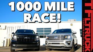 Ford Expedition vs Chevy Suburban RST: The (Not So) Great Race Part 1 of 2 by The Fast Lane Truck