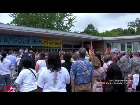 Mannheim American Elementary School, Closing Ceremony June 8, 2012