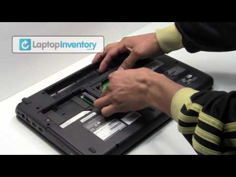 Toshiba - http://www.LaptopInventory.com - Toshiba Satellite Laptop Disassembly and Repair Fix Tutorial. Take Apart Toshiba Notebook Laptop Parts Battery, CMOS, LCD Be...