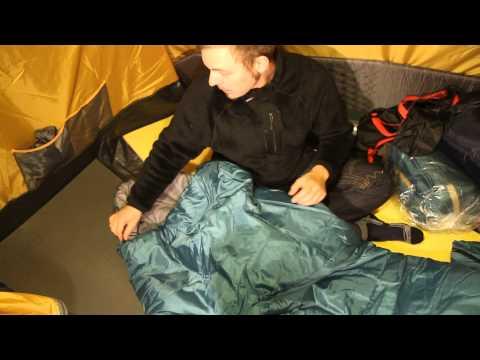 Спальный мешок одеяло с подголовником Nova Tour «Карелия 450». Видеообзор.