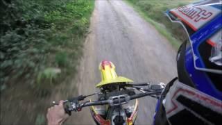 5. Suzuki rmz 450 first ride + akrapovic and rev limiter
