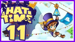 A HAT IN TIME # 11 • Sehr weitläufige Welt Alpin-Bergkette! • Let's Play A Hat in Time