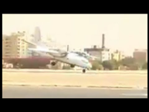 New video. An Antonov An-32 collided...