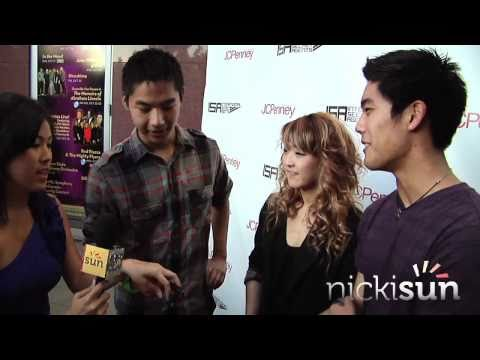 isa - Jay Park, Far East Movement, Wong Fu Productions, Poreotics, Quest Crew, Alyssa Bernal, AJ Rafael, KevJumba, Lydia Paek, Ryan Higa, and NICK CANNON all in ON...