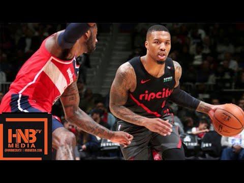 Portland Trail Blazers vs Washington Wizards Full Game Highlights   11.18.2018, NBA Season