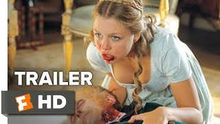 Pride And Prejudice And Zombies Official Trailer 1 2016  Lily James Horror Movie HD
