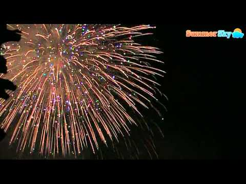 I fuochi d'artificio alla festa di San Vito a Forio d'Ischia