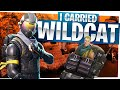 I CARRIED I AM WILDCAT! - Fortnite Solo Duos Victory Gameplay