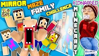 Video KIDNAPPED in MINECRAFT!! FGTEEV MIRROR MAZE Family Challenge! Save DUDDY Mini-Game (Gameplay / Skit) MP3, 3GP, MP4, WEBM, AVI, FLV September 2018