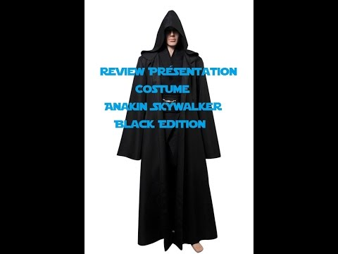 Présentation Cosplay Anakin Skywalker Black Edition