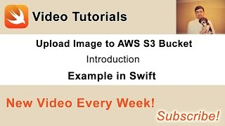 "Source code and other videos you can find in this blog post of mine: http://swiftdeveloperblog.com/upload-image-to-aws-s3-bucket-in-swift/This is an introduction video on ""How to upload an image to Amazon AWS S3 bucket"" video tutorial."