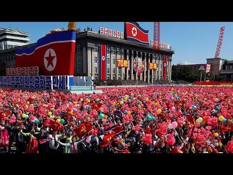 Nordkorea feiert 70. Gründungstag mit Pomp und Militä ...