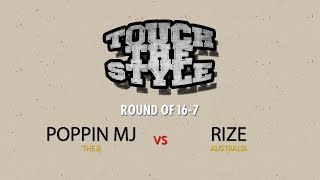MJ vs Rize – Touch The Style Vol.1 Round of 16