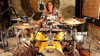 Don't Let Me Down - Rayani Martins Drum Cover