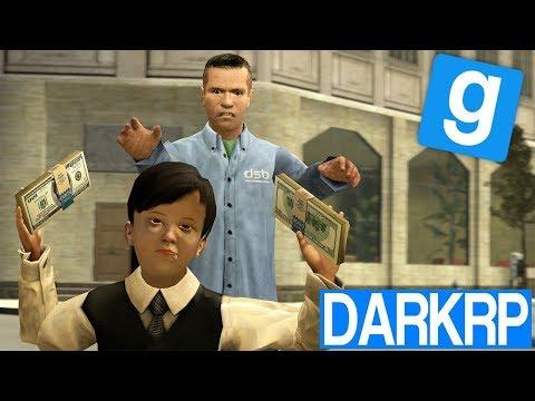 L'ENFANT STAGIAIRE DE BANQUE ! - Garry's Mod DarkRP (видео)