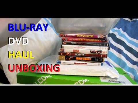 Blu-ray/DVD Haul & Unboxing!