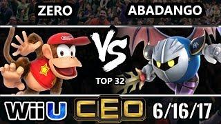 Video CEO 2017 Smash 4 - TSM | ZeRo (Diddy Kong) vs LG | Abadango (Meta Knight) Wii U Top 32 MP3, 3GP, MP4, WEBM, AVI, FLV Januari 2018