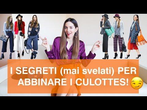 COME VESTIRSI BENE: come abbinare i pantaloni culottes.. anche se non sei alta o/e magra!