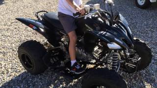 3. 2008 Yamaha Raptor 250SE Custom Walkaround