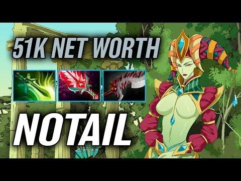Notail • Naga Siren • 51k Net Worth — Pro MMR