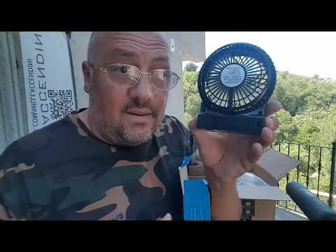 Tutti i ventilatori portatili L'uomo del vento ha detto si