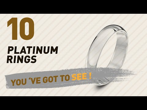 Platinum Rings Top 10 Collection // UK New & Popular 2017