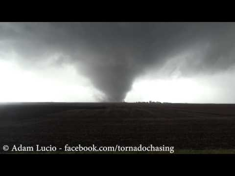 Violent Washington - Roanoke Illinois Tornado November 17th 2013