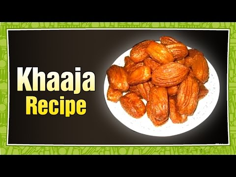 Recipe – Wheat Flour Sweet – Khaaja Recipe With English Subtitles