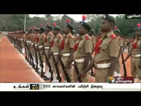 355-home-guards-join-duty-after-64-day-training-at-Puducherry