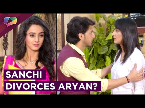 Sanchi gives Aryan a DIVORCE leaves for AUSTRALIA?
