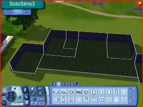 Video 1 de Los Sims 3:  Crear tu casa parte 1