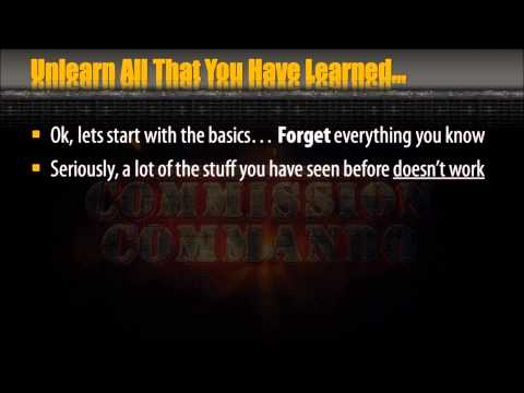 Make Money Online in Austin, Texas. | Affiliate Commission Commando. | Back Office Preview.