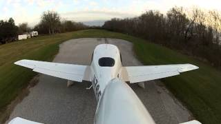 Cirrus SR-20 AG Strip Landing And Takeoff In Texas
