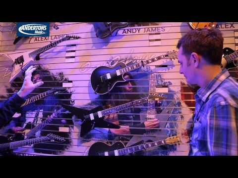 New ESP Guitars at NAMM 2015