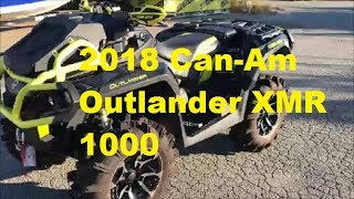 7. 2018 Can-Am Outlander XMR 1000 Review