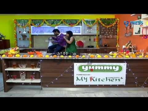 Diwali Special - Strawberry Banana Smoothie recipe by Actor Kaushik | Yummy Healthy Kitchen 30 October 2014 03 PM