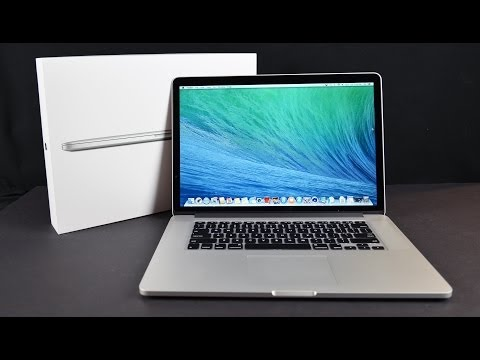 Apple MacBook Pro 15-inch with Retina Display (Late 2013): Unboxing, Demo, & Benchmarks
